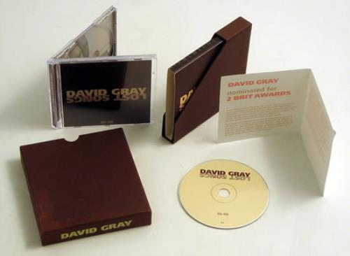 David Gray Lost Songs 95-98 CD album (CDLP) European DGRCDLO403434