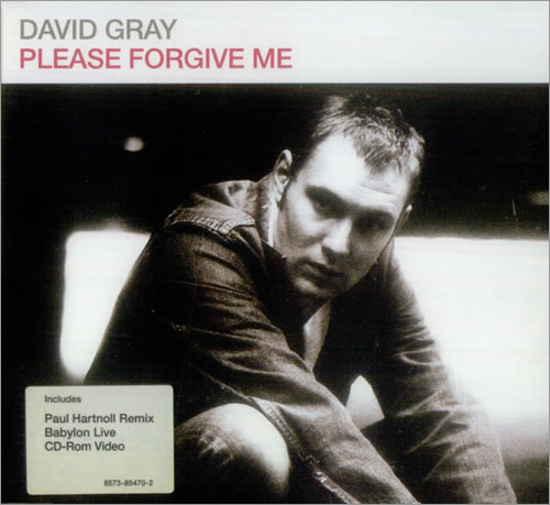 "David Gray Please Forgive Me CD single (CD5 / 5"") UK DGRC5PL168173"