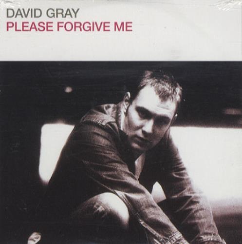 """David Gray Please Forgive Me CD single (CD5 / 5"""") German DGRC5PL200215"""
