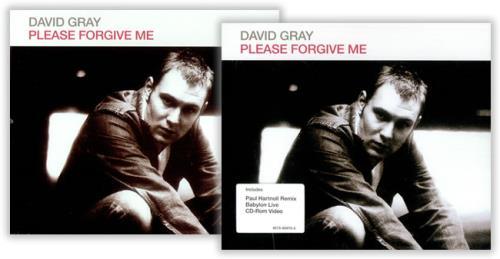 """David Gray Please Forgive Me CD single (CD5 / 5"""") UK DGRC5PL419690"""