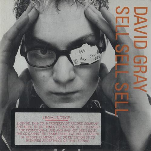 David Gray Sell Sell Sell CD album (CDLP) US DGRCDSE442012