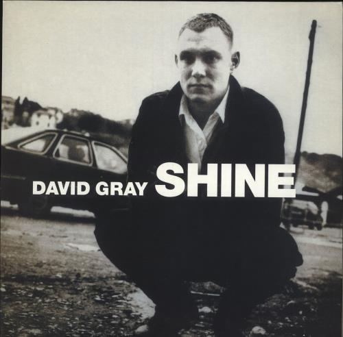 """David Gray Shine 12"""" vinyl single (12 inch record / Maxi-single) UK DGR12SH166978"""