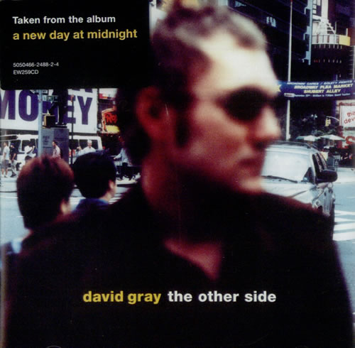 "David Gray The Other Side CD single (CD5 / 5"") UK DGRC5TH228505"