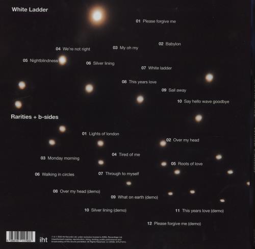 David Gray White Ladder: 20th Anniversary Vinyl Box Set UK DGRVXWH752381