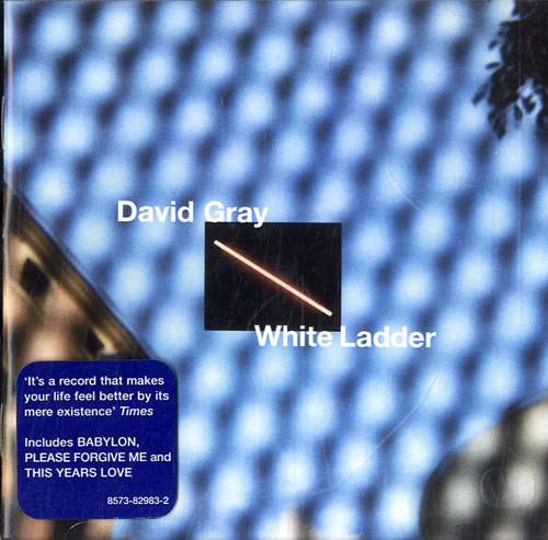 David Gray White Ladder CD album (CDLP) German DGRCDWH159627