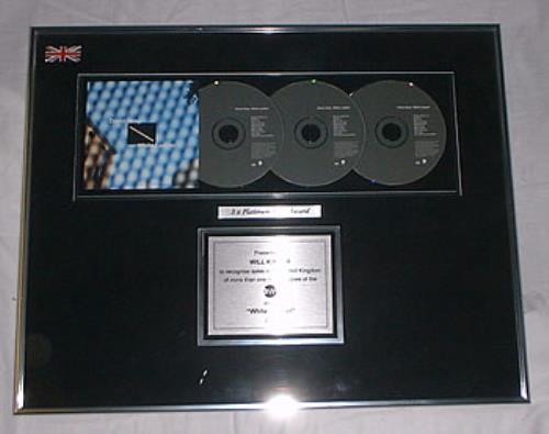 David Gray White Ladder award disc UK DGRAWWH207763