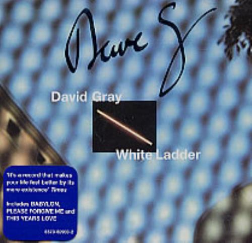 David Gray White Ladder CD album (CDLP) UK DGRCDWH209044