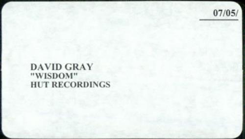 David Gray Wisdom video (VHS or PAL or NTSC) UK DGRVIWI196314