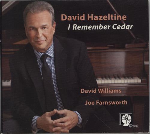 David Hazeltine I Remember Cedar CD album (CDLP) US 148CDIR751507