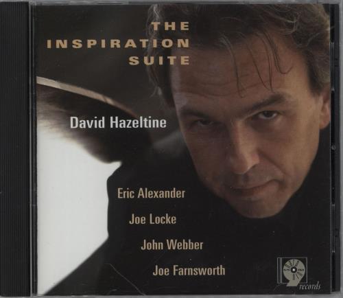 David Hazeltine The Inspiration Suite CD album (CDLP) US 148CDTH751782