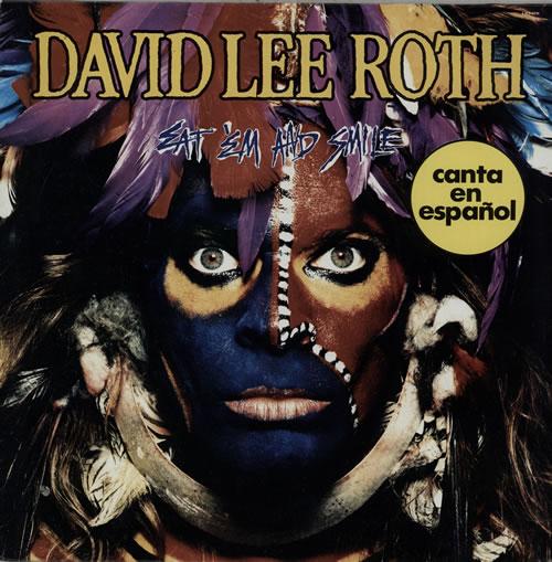 David Lee Roth Eat 'Em And Smile - Spanish Language Version vinyl LP album (LP record) Mexican DLRLPEA583179