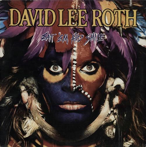 David Lee Roth Eat 'Em And Smile vinyl LP album (LP record) UK DLRLPEA284572