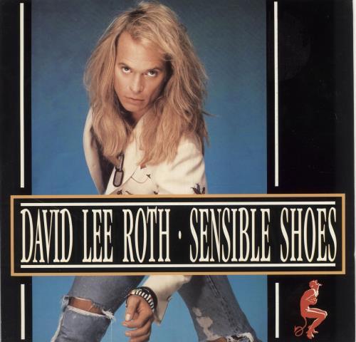"David Lee Roth Sensible Shoes 12"" vinyl single (12 inch record / Maxi-single) UK DLR12SE19966"