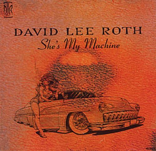 """David Lee Roth She's My Machine CD single (CD5 / 5"""") US DLRC5SH346857"""