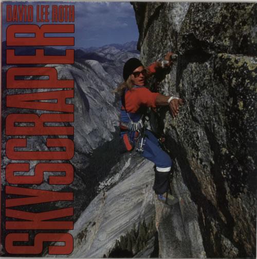 David Lee Roth Skyscraper vinyl LP album (LP record) German DLRLPSK284573