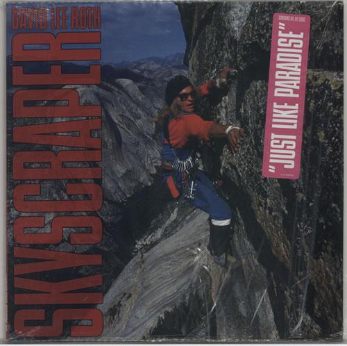 David Lee Roth Skyscraper vinyl LP album (LP record) German DLRLPSK618607