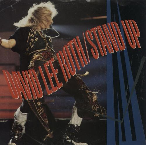 "David Lee Roth Stand Up 7"" vinyl single (7 inch record) US DLR07ST759659"