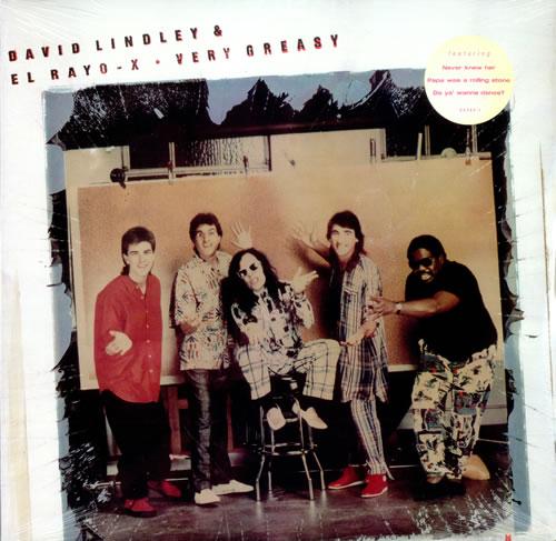 David Lindley Very Greasy - Sealed vinyl LP album (LP record) US DJ8LPVE505540