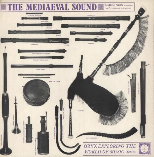 David Munrow The Mediaeval Sound vinyl LP album (LP record) UK 0D1LPTH749884