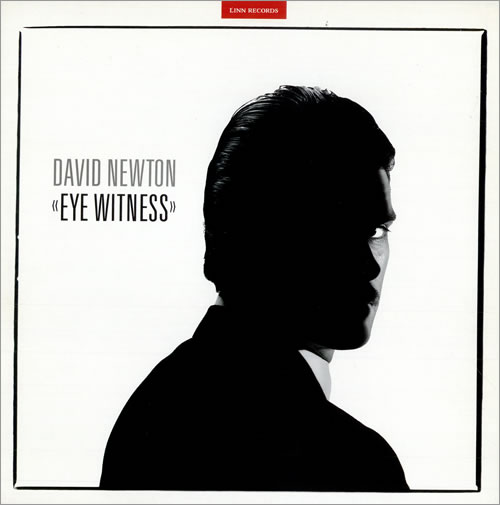 David Newton Eye Witness vinyl LP album (LP record) UK DQMLPEY477568