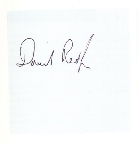 David Redfern The Unclosed Eye - Autographed book UK 0C0BKTH731995