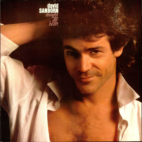 David Sanborn Straight To The Heart vinyl LP album (LP record) German DS8LPST501403