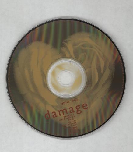 David Sylvian Damage CD album (CDLP) UK SYLCDDA34761