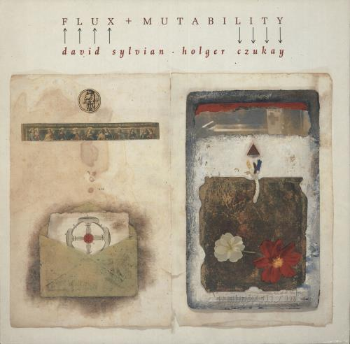 David Sylvian Flux + Mutability - EX vinyl LP album (LP record) UK SYLLPFL722205