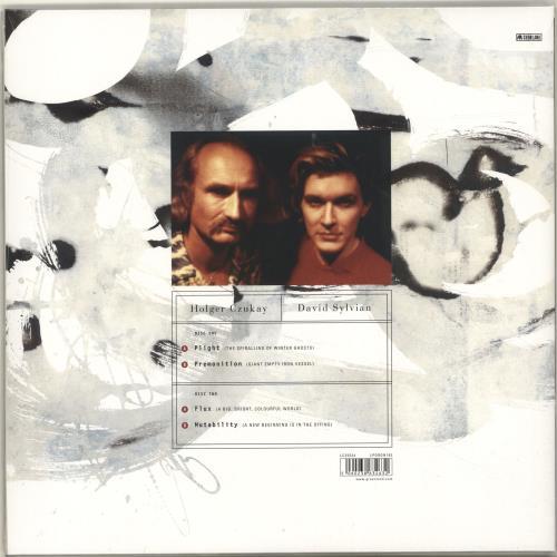 David Sylvian Plight & Premonition / Flux & Mutability - Sealed 2-LP vinyl record set (Double Album) UK SYL2LPL698765