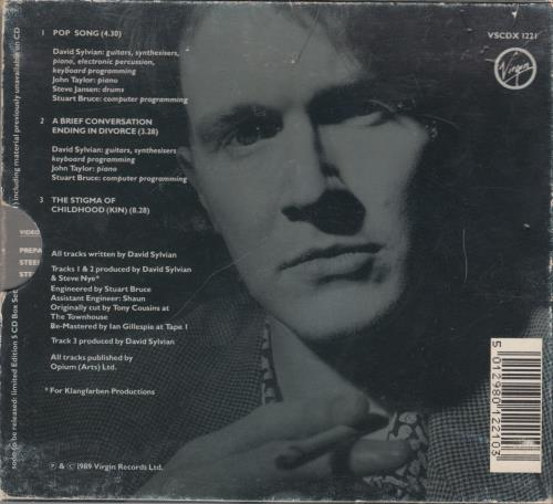 david sylvian discography