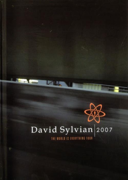 David Sylvian The World Is Everything Tour - Book + CD book UK SYLBKTH514691