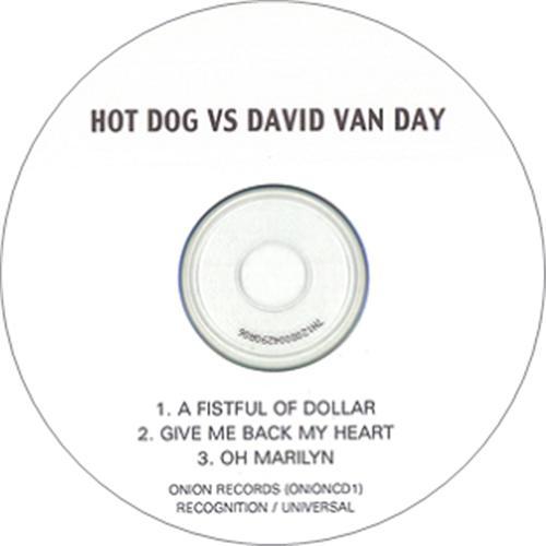 David Van Day A Fistful Of Dollar - Three Track CD-R acetate UK DVYCRAF217749