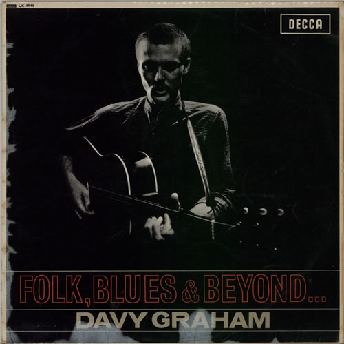 Davy Graham Folk, Blues & Beyond... - 1st vinyl LP album (LP record) UK DVGLPFO80681