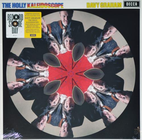 Davy Graham The Holly Kaleidoscope - RSD 2020 - Kaleidoscope Vinyl vinyl LP album (LP record) UK DVGLPTH754439