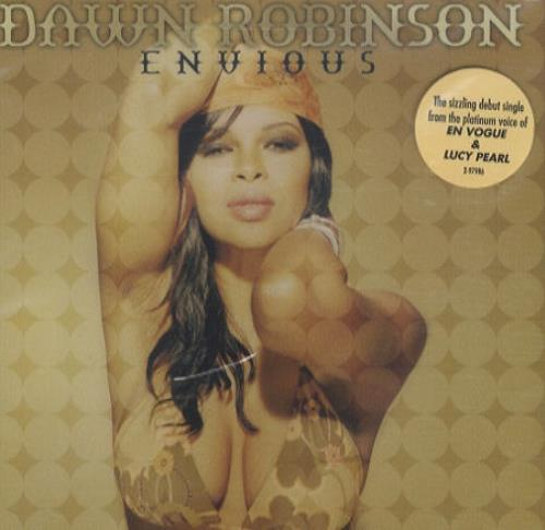 "Dawn Robinson Envious CD single (CD5 / 5"") US AWNC5EN206761"