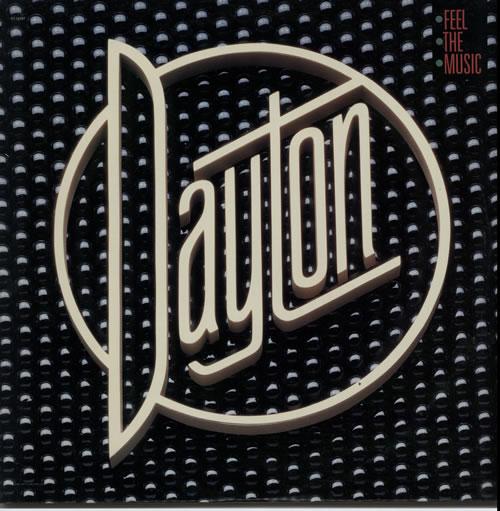 Dayton Feel The Music vinyl LP album (LP record) US G50LPFE628280