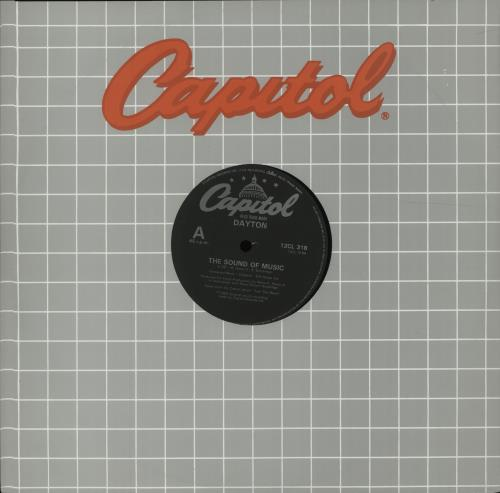 "Dayton The Sound Of Music 12"" vinyl single (12 inch record / Maxi-single) UK G5012TH637395"
