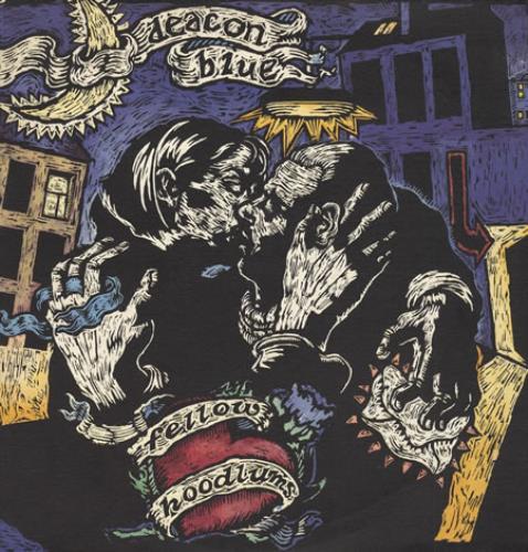 Deacon Blue Fellow Hoodlums + Booklet vinyl LP album (LP record) UK DBLLPFE398788