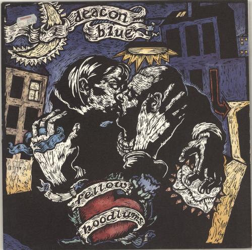 Deacon Blue Fellow Hoodlums vinyl LP album (LP record) UK DBLLPFE714516