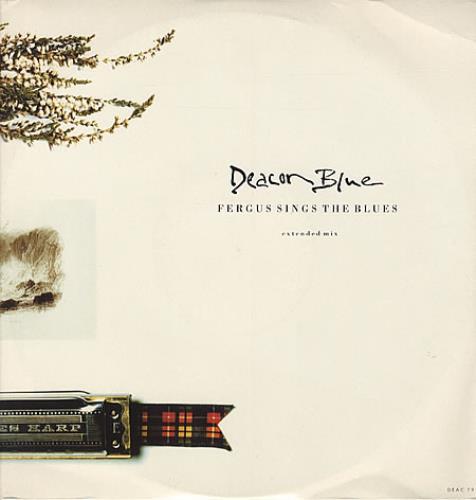 """Deacon Blue Fergus Sings The Blues 12"""" vinyl single (12 inch record / Maxi-single) UK DBL12FE328169"""