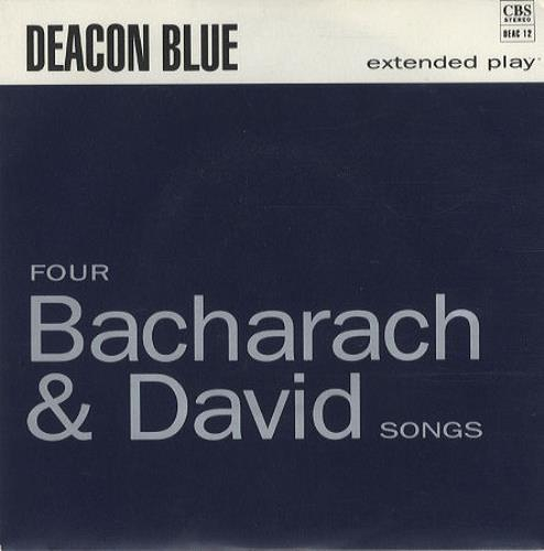 "Deacon Blue Four Bacharach & David Songs 7"" vinyl single (7 inch record) UK DBL07FO35801"