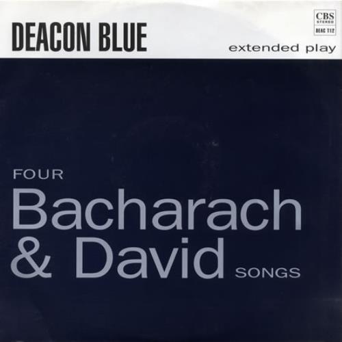"Deacon Blue Four Bacharach & David Songs 12"" vinyl single (12 inch record / Maxi-single) UK DBL12FO98068"