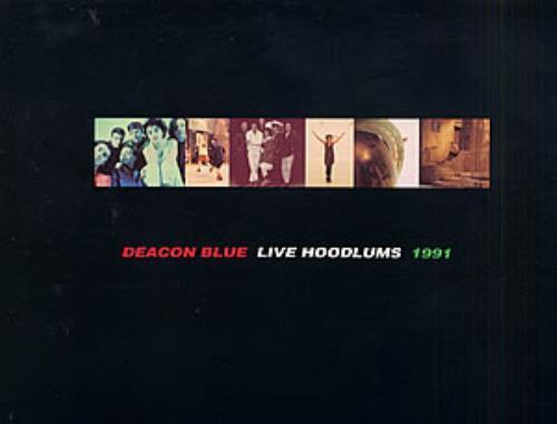 Deacon Blue Live Hoodlums 1991 tour programme UK DBLTRLI93242