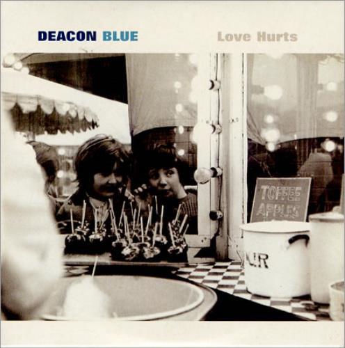 "Deacon Blue Love Hurts CD single (CD5 / 5"") UK DBLC5LO160667"