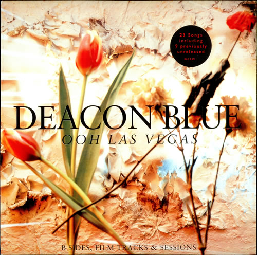 Deacon Blue Ooh Las Vegas + Insert 2-LP vinyl record set (Double Album) UK DBL2LOO02394