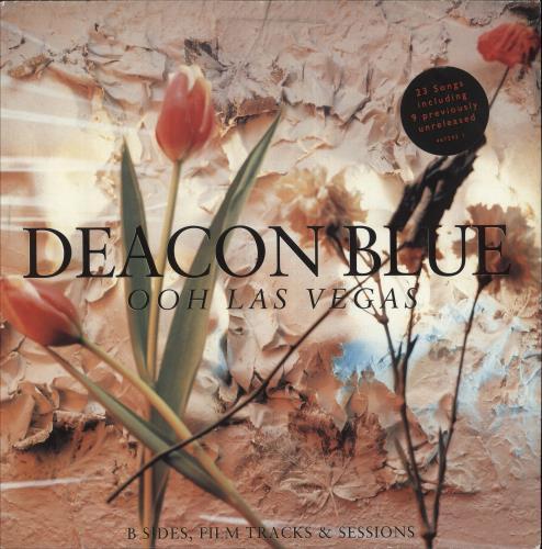 Deacon Blue Ooh Las Vegas - Stickered sleeve 2-LP vinyl record set (Double Album) UK DBL2LOO748603