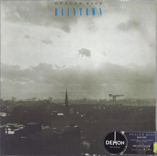 Deacon Blue Raintown - 180g Blue Vinyl vinyl LP album (LP record) UK DBLLPRA773577