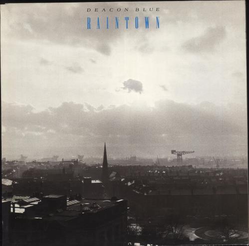 Deacon Blue Raintown vinyl LP album (LP record) UK DBLLPRA238588