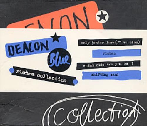 Deacon Blue Riches Collection - with 3 CDs - SEALED box set UK DBLBXRI103708