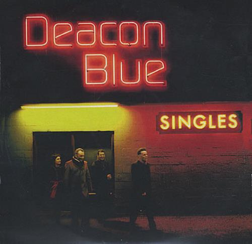 Deacon Blue Singles CD-R acetate UK DBLCRSI386117